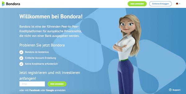 Bondora P2P-Kredite Investieren