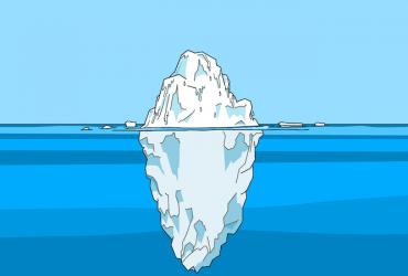 Eisberg-Illusion Erfolg