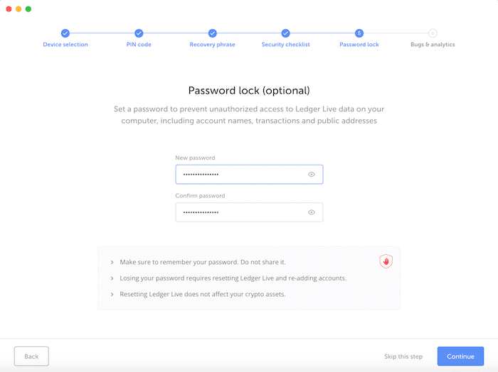 Ledger Hardware Wallet Kryptowährungen Bitcoin Ethereum Ripple Litecoin Anleitung 7