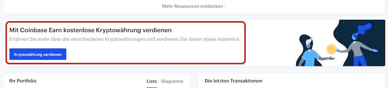 Coinbase Earn Anleitung