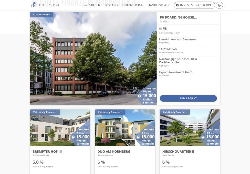 Immobilien finanzieren Crowdinvesting