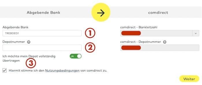 Depotwechsel Comdirect Anleitung Test Erfahrungen