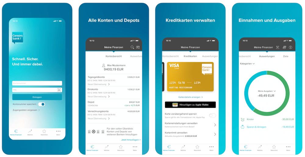 Consorsbank Young Trader Zero Depot App Erfahrungen