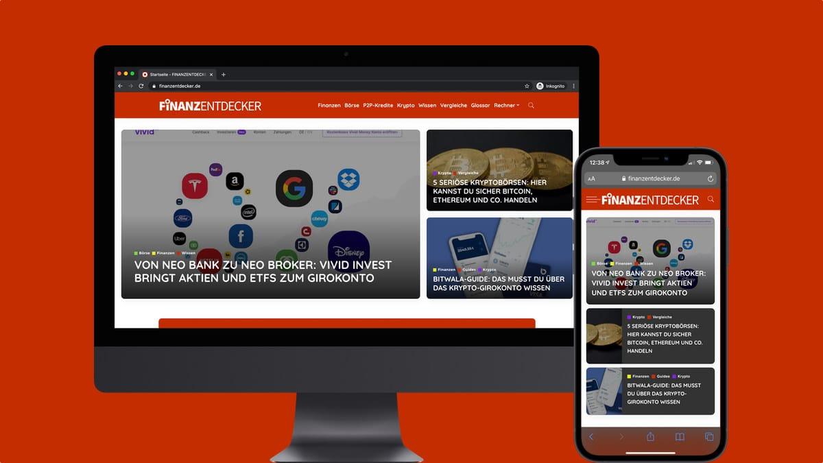 Finanzentdecker Mobil und Desktop