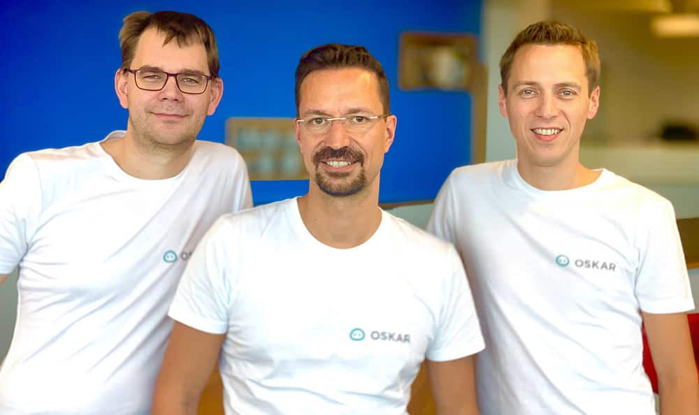 OSKAR Gründer Team