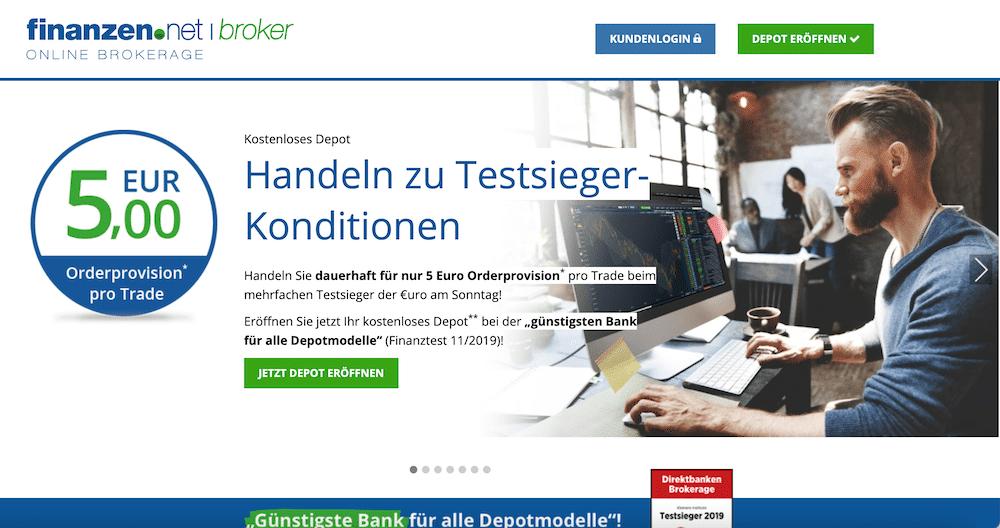 Finanzen.net Broker Gratisbroker Übernahme
