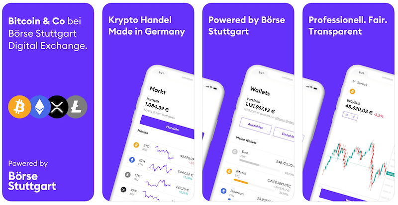 BSDEX App Börse Stuttgart