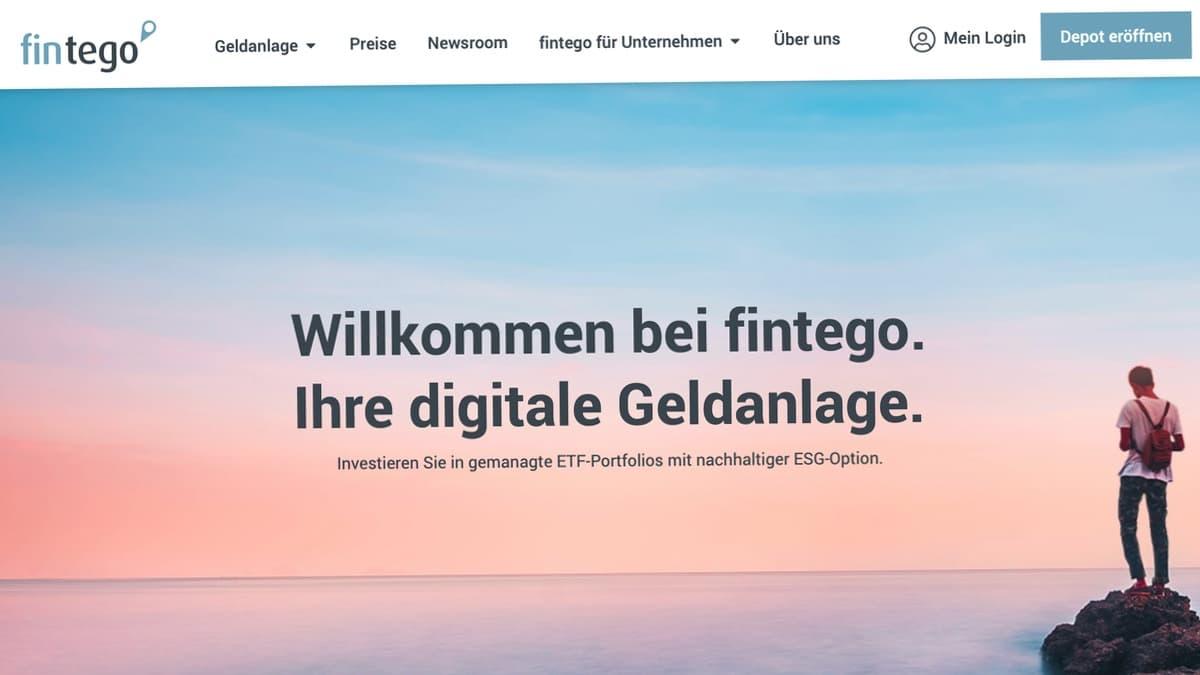 Fintego Robo Advisor Vermögensverwaltung