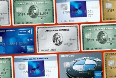 American Express Kreditkarten Amex Blue Green Gold Platinum Payback BMW Vergleich Test Erfahrungen